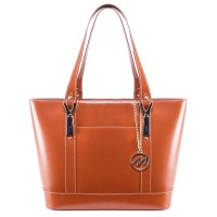 Arya Leather Ladies' Tote With Tablet Pocket