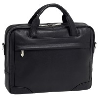 "Bronzeville 15.4"" Leather Medium Laptop Briefcase"