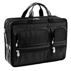"Hubbard 15.6"" Double Compartment Laptop Case"