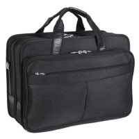 "Walton 17"" Expandable Double Compartment Laptop Case W/ Removable Sleeve"