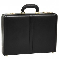 "Reagan Leather 3.5"" Attache Briefcase"