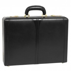 "Turner Leather 4.5"" Expandable Attache Briefcase"