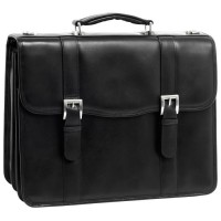 "Flournoy 15.6"" Leather Double Compartment Laptop Case"